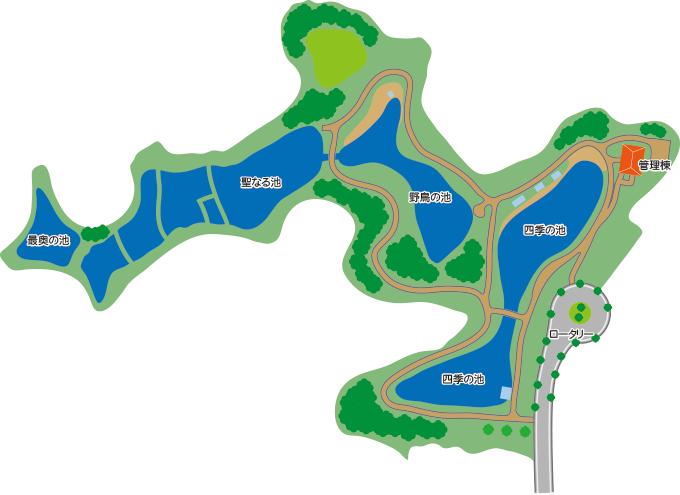 水辺公園マップ